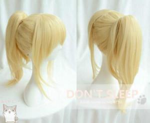 ÜCRETSIZ KARGO + Nisan ayında Yalan Miyazono Kaori Klip At Kuyruğu Cosplay Peruk Hair298