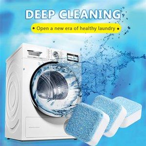 Derin Efervesan tablet Yıkama Temizleyici sökücü Deterjan temizleme 6 Sekme yıkama makinesi temizleyicisi çamaşır uzmanı