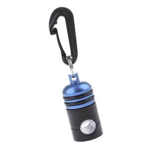 Anti-ferrugem / Portable / durável banhado alumínio Underwater Mergulho Regulador Octopus Hose Clip Holder