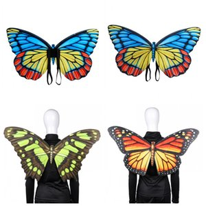 Butterfly Wings coloré Halloween Mardi Gras Fantaisie robe de bal pour adultes et les enfants de déguisement SOIRÉE Haute Qualité 20szH1