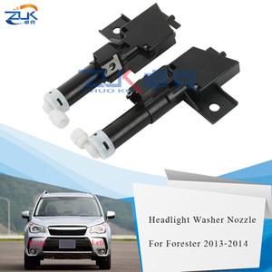 ZUK Farol Farol do pulverizador de água Bico Washer atuador Jet Para Subaru Forester SJ 2013 2014 Head Light Lâmpada Washer Nozzle