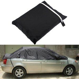 Universal Car Cover neige glace poussière soleil UV pluie Couvre moitié résistant 3 tailles de voiture Protecteur extérieur Protecteur