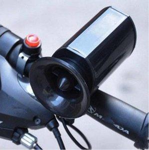 Schwarz Sounds super laut Ultra laut elektronische Fahrrad Hörner Mountainbike Elektronische Glocke Becycle Reit Horn ZZA535