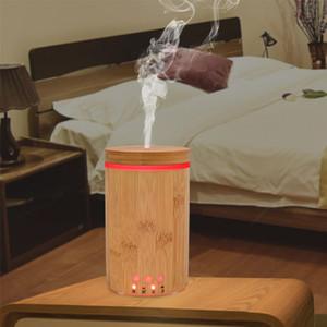 150ml de bambu sem água Auto off Quente Umidificador Névoa BPA livre Sussurro silêncio confortável respiração sono Pele Natureza Aroma Difusor