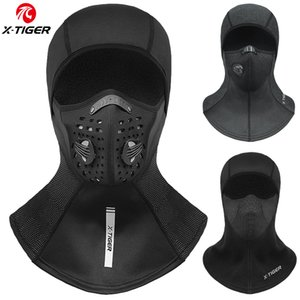X-TIGER Winter Mask Fleece Thermal Cycling Mask Anti-Dust Cycling Cap Windproof Full Face Cover Balaclava Skiing Skating Hat