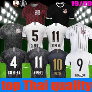 2019 2020 nuova Corinto Paulista RONALDO Jersey di calcio 18 19 20 CLAYTON Jadson ROMERO PABLO M.GABRIEL Brasile terzo Football Shirt