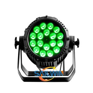 SAILWIN 5IN1 RGBAW V18 IP65 IMPERMEÁVEL usar a luz LED PAR para a festa de casamento e do evento PRODUCTIONS