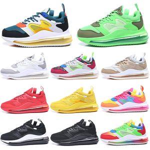 Nuevo Stock X Airr Hombres 720 OBJ Zapatillas de running Mujeres Be True Triple Negro Blanco Desert Ore 720s Chaussures Hombres Entrenador Zapatillas deportivas