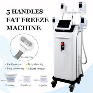 En Yeni! Satış Salon Spa Kullanımı Cryolipolyse Vücut Zayıflama Ekipman Dondurucu 4 Kolları Fat Freeze Makinesi Cryolipolysis Vakum Terapi Yağ