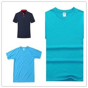 Мужчины ПОЛО или женщины длинных рубашки Классического шелковое волокно с коротким рукавом Равномерной Футболка TDE-132