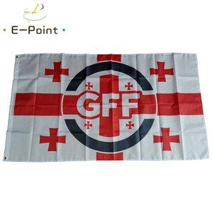 Flag of Georgia National Football Team 3*5ft (90cm*150cm) Size Decoration Polyester flag banner home & garden Festive gifts