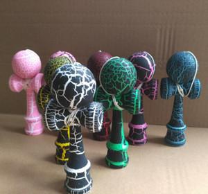 Kendama Topu Ahşap Japon Geleneksel Ahşap Oyun Oyuncak Eğitim çocuklar öğrenci Hediye erken Çocuk oyuncakları Düzenli Açık Skillful Jonglörlük Bal