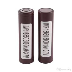 100% INR 25R HG2 HE2 HE4 18650 Batería 2500mAh 3000mAh 3.7V 35A E Batería recargable de litio Batería