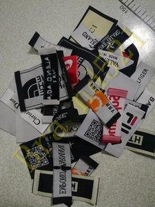 marchio di abbigliamento di patch Sport Figura Labels set per i vestiti Etichette Garment Hand Made giacca camicia patch cucito accessori fai da te