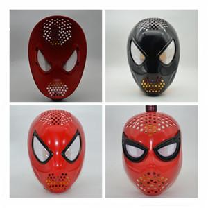 Rojo negro the Amazing Faceshell con lentes para cosplay disfraz cosplay casco araña casco máscaras de fiesta