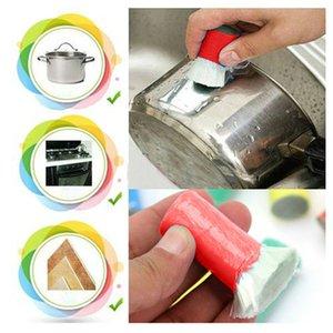 السحر الفولاذ المقاوم للصدأ المعادن غسل فرشاة تنظيف مزيل الصدأ المنظفات عصا