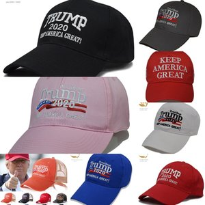 fxQnt Best Sale Embroidery Trump Black Make Baseball Great Again Donald Trump America Caps Hats Baseball Caps Adults Sports Hat 2020 & Red