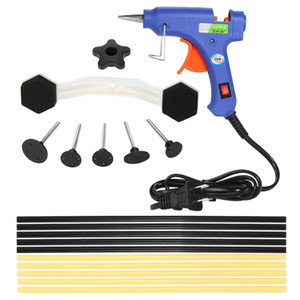 Hot Melt Glue Gun with Glue Sticks Electric High Temperature Heat Guns for Car Body Dent Repair 110-240V