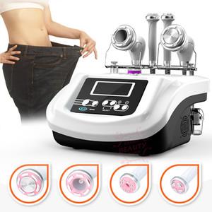 Melhor Preço Ultrasound 30K som cavitação + RF EMS Eletroporação Vacuum Salon sucção RF Spa Corpo Cuidados de Rosto multifuncional Magro Máquina