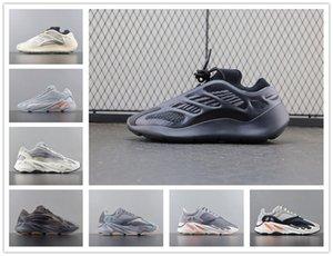 Reflective 700 Wave Runner Kanye West v2 Solid Grey static Magnet Teal Carbon Blue Runing Shoes Men Designer Shoes men Women Static Sneakers