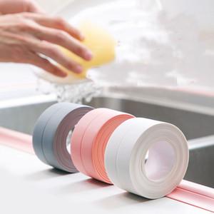 Sealing Strip Flexible Self Adhesive Caulking Tape Waterproof for Kitchen Bathroom Tub Shower Floor Wall Edge Protector (3.8cm * 3.2m)