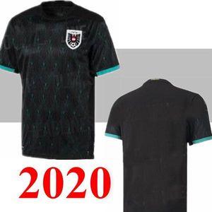 Austria soccer jerseys 20 21 Alaba jersey Arnautovic Sabitzer Grillitsch camisetas national team black football shirts