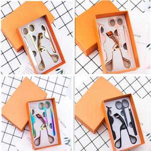 4pc / Paquet Faux Cils Brucelles mis Makeup en acier inoxydable Sourcils Cils Scissor kit de maquillage Bigoudi