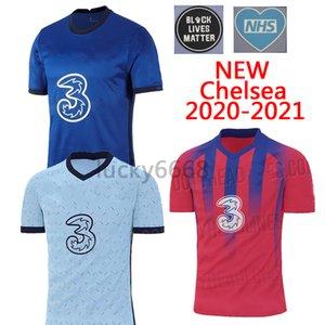 (Super A quality) 20 21 WERNER PULISIC KANTE ABRAHAM MOUNT ZIYECH soccer jersey 2020 2021 Camiseta de football shirt