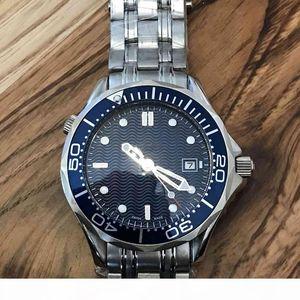 41mm Mens Professional 300m James Bond 007 Blue Dial Sapphire Automatic Watch Men's Watches
