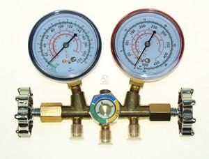 Ar condicionado de refrigeração R22 R12 R502 A / C Goldure de manifold de diagnóstico AC