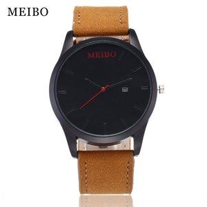 Взрывоопасные часы Fashion Recreational мужские пояса одного календаря кварцевые часы мужские часы