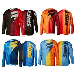 mudar primavera downhill roupas e no Outono de manga comprida T-shirt camisa exterior bicicleta mountain bike off-road roupa da motocicleta