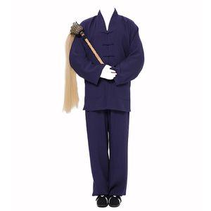 2019 nuovo blu nero unisex taoista abiti taoismo tai robe abbigliamento arti marziali abito tonaca