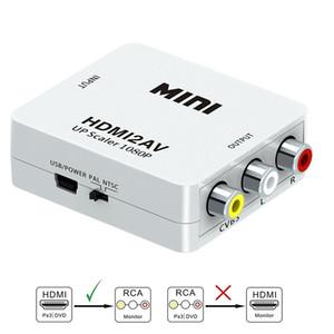 مصغرة AV2HDMI RCA AV HDMI CVBS لتحويل HDMI صندوق AV إلى HDMI محول الفيديو لHDTV TV PC DVD إكس بوكس العارض