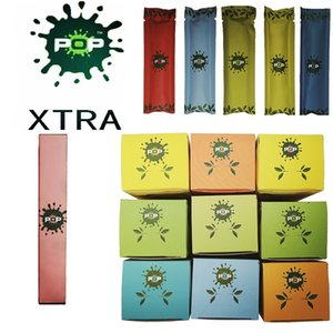 POP XTRA descartável Dispositivo Kit 550mAh Battery 3,5 ml Cartuchos 1000Puffs Vape Pen descartáveis Vara POP Pods Vape Carrinhos Esvazie