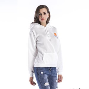 Mulher designer Sweater temporada com capuz bolso jaqueta casual de impressão plus size veludo grande roupas HSPC