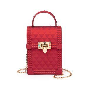 Chain Small Bag Female 2020 New Fashion Jelly Bag Mobile Phone Messenger Female Messenger Ladies Shoulder Wallet