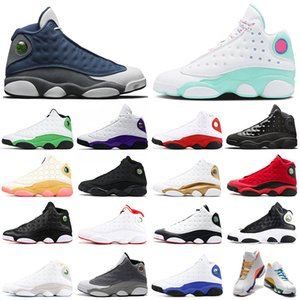 nike air jordan retro 13 estoque x Flint jumpman 13s homens tênis de basquete 13 REVERSO ELE JOGOU Playground mulheres mens formadores Tênis esportivos