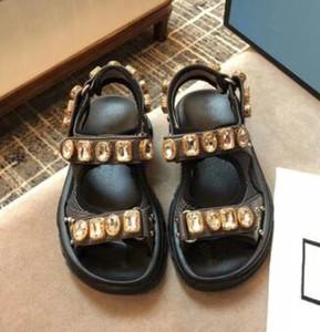 Vendita calda-Designer rivettato Sandali sportivi per uomo e donna sandali per il tempo libero Moda in pelle scarpe da spiaggia all'aperto \ 12