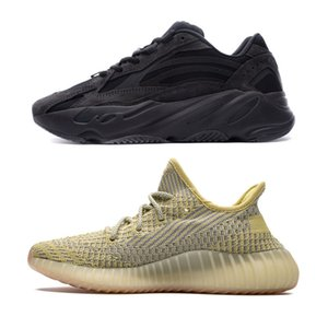 700 nouvelles V2 White Cloud Citrin Kanye West Chaussures Aimant réfléchissant Yeezreel, Yecheil v2 Lundmark Utility Synth Noir Vanta Tephra Clay Bred
