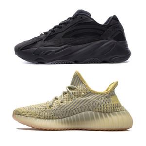 Zapatos nuevos 700 V2 White Cloud Citrin Kanye West Imán reflectante Yeezreel, Yecheil v2 Lundmark Synth Utilidad Negro Vanta Tefra arcilla Bred