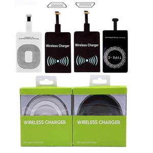 El módulo receptor inalámbrico del cargador del adaptador inalámbrico Qi cargador universal para el iPhone X borde 6 7 8 Plus de Samsung S7 S8 Nota 8