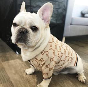 Evcil köpek giysileri Triko Küçük köpek Tide pet Bixiong Kitty köpeklere özlü iplik hırka kazak giyim tasmaları