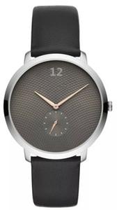 Dreama Nueva personalidad de la moda cinturón negro reloj de cuarzo de negocios reloj impermeable AR11159 AR11162 Envío libre al por mayor