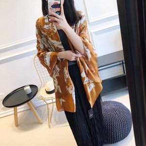 De haute qualité DESIGNERS luxe haut de gamme de la mode écharpe de soie dame printemps et en été nouveau imprimé foulard 2020 selling8741 chaud