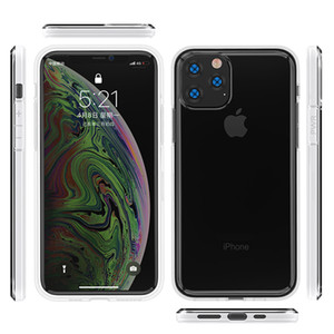 Venda quente em estoque para iphone 5.8 2019 2mm macio tpu claro absorção de choque capa protetora phone case capa