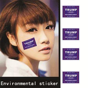32 PC / sistema presidente Donald Trump engomada de la cara 2020 elección de Estados Unidos etiquetas engomadas ambientales