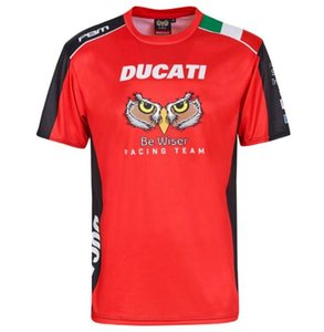 Tudo T-shirt T-shirt MOTOGP Ducati de corrida de secagem rápida de manga curta respirável fãs de carro equitação da motocicleta T-shirt masculino