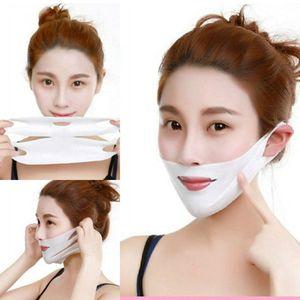 Тонкая маска для лица для похудения Повязка для ухода за кожей Пояс для подтяжки формы Уменьшить двойную подбородочную маску для лица Тонкая полоса для лица RRA938