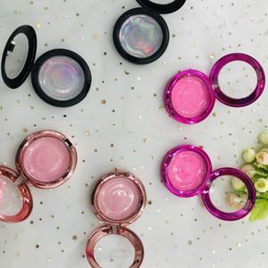 Round Box mit Wimpern benutzerdefinierte Paket Farbe Großhandelspreis Private Label hochwertige Hart plast boxesic Verpackung